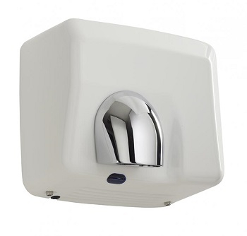 SECHE-MAINS PULSEO 2400W AUTOMATIQUE BLANC EMAILLE