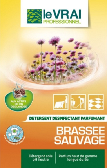 DETERGENT LE VRAI  BRASSEE SAUVAGE DOSE 20ML