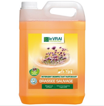 DETERGENT LE VRAI  BRASSEE SAUVAGE 5L
