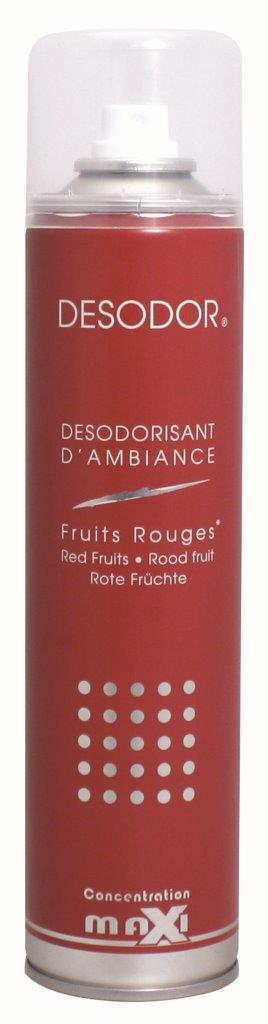 DESODORISANT FRUITS ROUGE 400ML