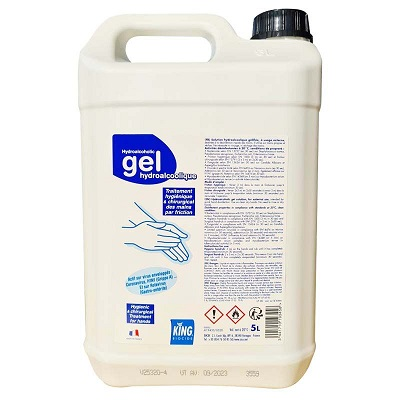 GEL HYDROALCOOLIQUE 5L KING