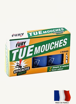 FURY RUBAN ATTRAPE MOUCHES ECOLOGIQUE